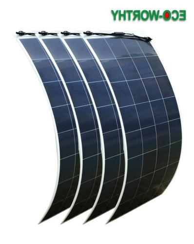 600W Solar Panel 12V Charger RV