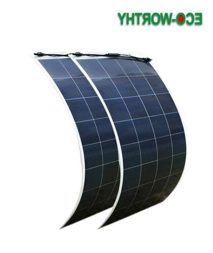 150 Watt 300W 600W Solar 12V RV Vehicle