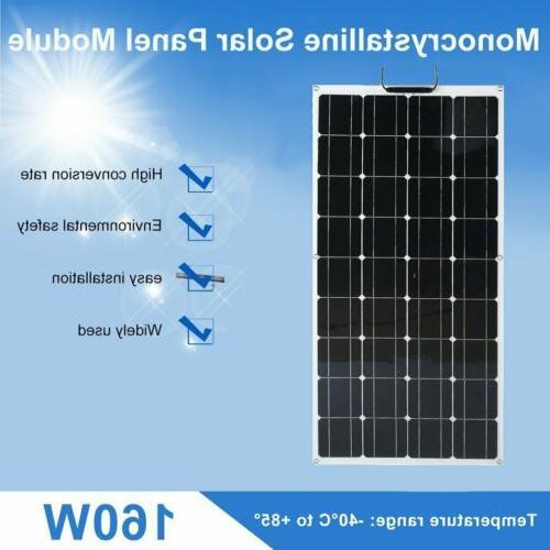 160W Panel Power Off Grid BT
