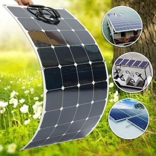 160 watt extremely flexible monocrystalline solar panel
