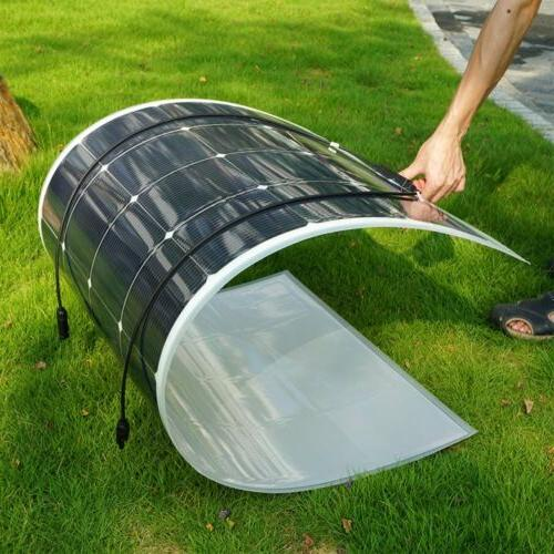 160W Newly Flexible Mono Solar Panel for 12V Battery RV Mono