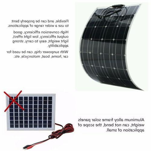 Solar Kit for RV Boat Car