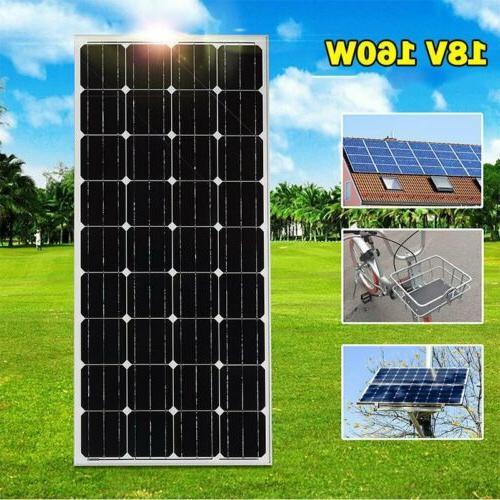 160W Mono Solar Panel Kit for Car VI