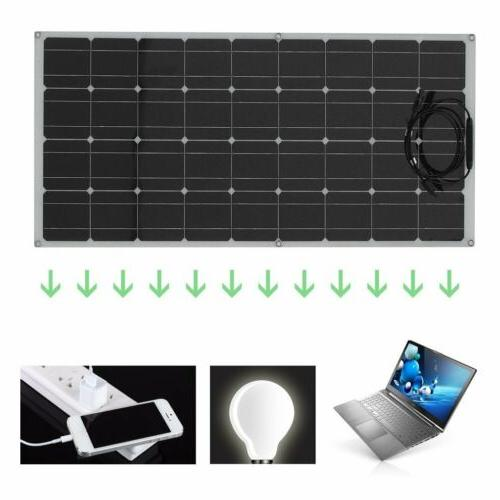 160W Flexible Monocrystalline Solar Panel Grid Kit Car VI
