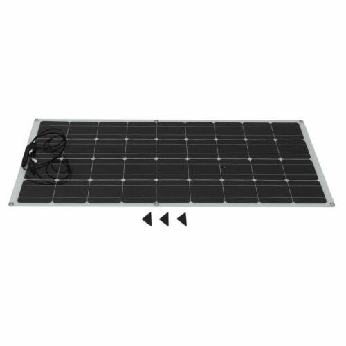 160W Mono Solar Panel Battery RV 36Cells HO