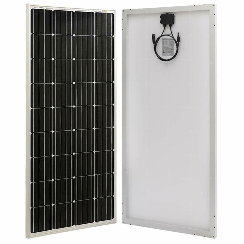 Richsolar 170 Watt 12 Volt Moncrystalline Solar Panel High E