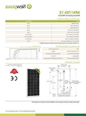 12V Solar High Module