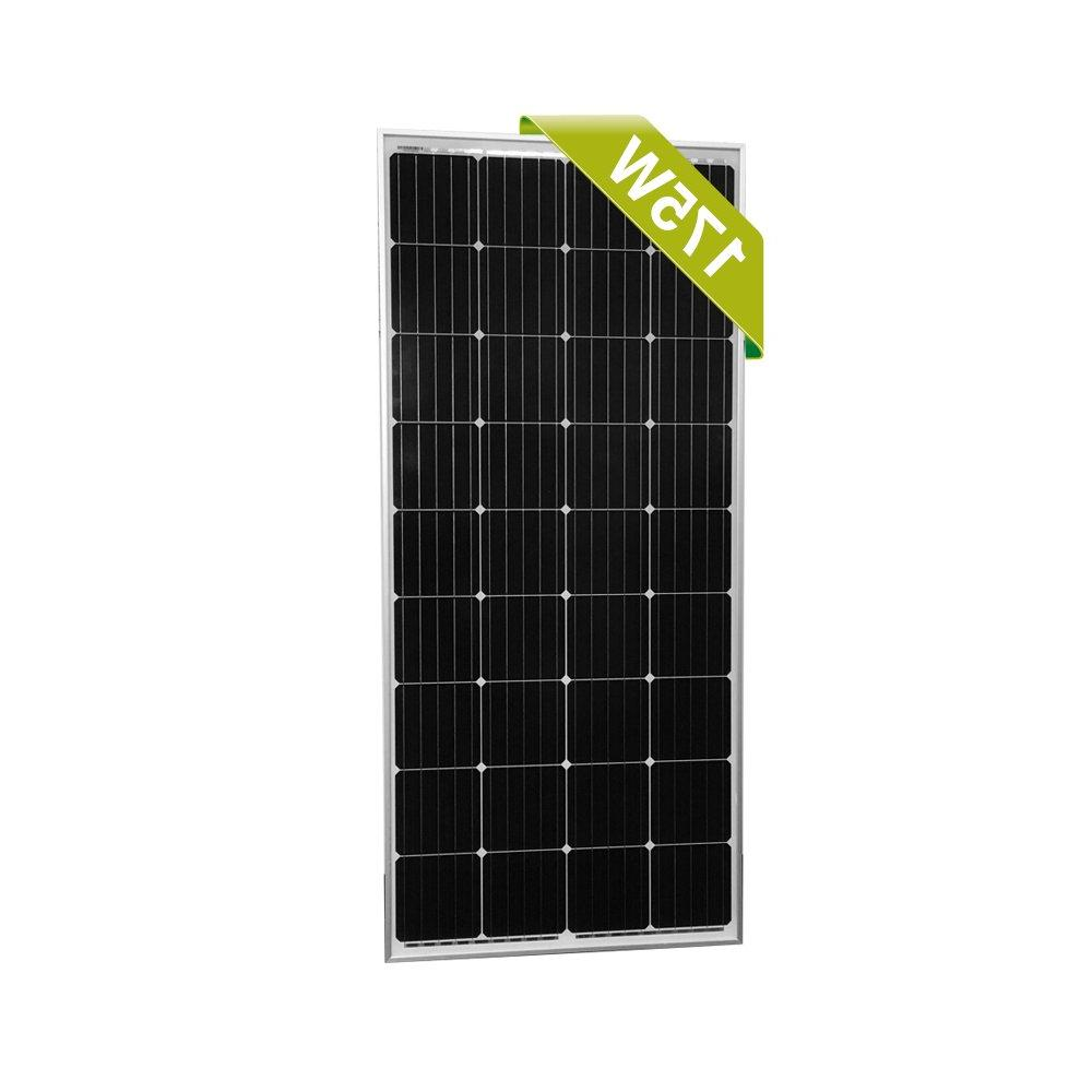 175w 175 watt 12v moncrystalline solar panel