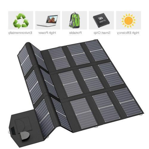 18V Solar Panel 2USB Charger Phone