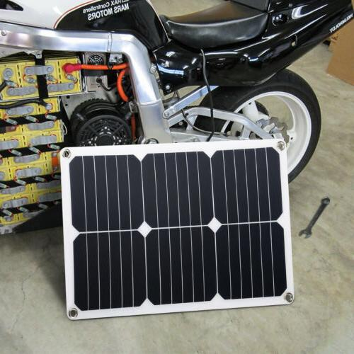 Suaoki Panel Solar Car Charger Waterproof Heat Resistant