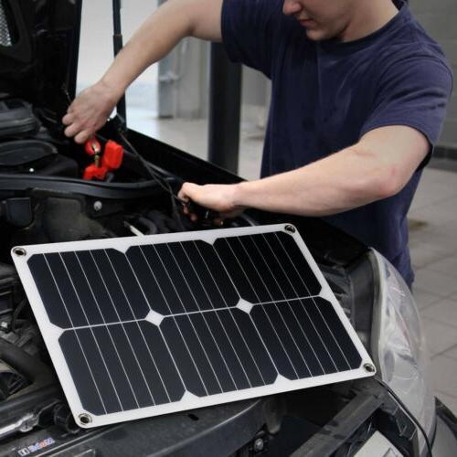 Suaoki 18W Solar For Boat Home Battery