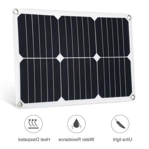 Suaoki 18V Solar Kit For Boat Car Battery