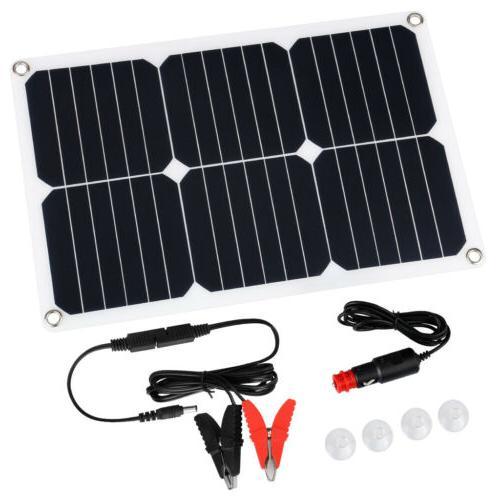 Suaoki 18V 18W Flexible Solar Kit Boat Battery Charger