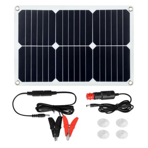 Suaoki 18V 18W Flexible Solar Panel Boat Battery Charger
