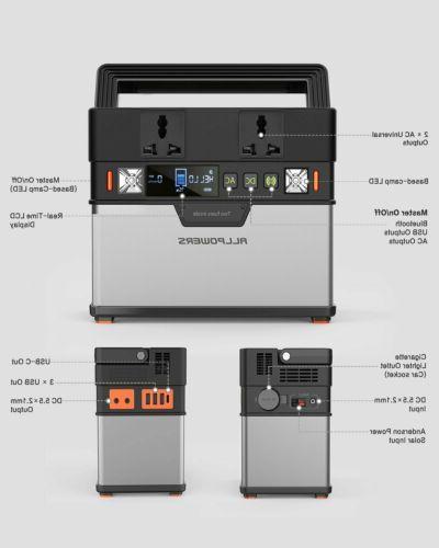 18V100W Folding Solar Panel Portable Solar Sation for