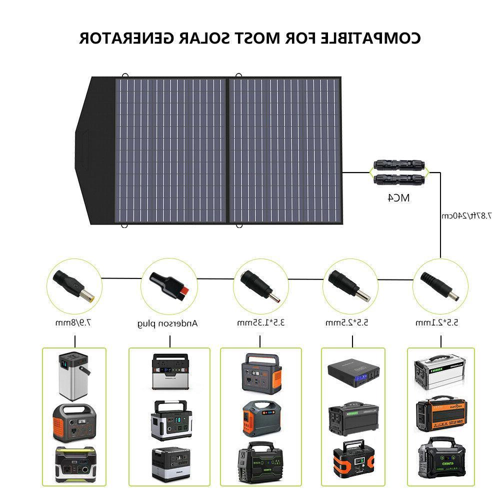 18V100W Solar Portable Generator Sation