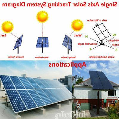 1KW Single Solar Tracker Kits +Sun