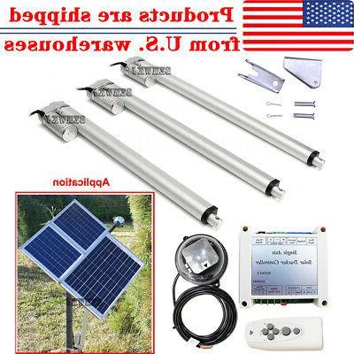 1kw single axis solar tracker kits linear