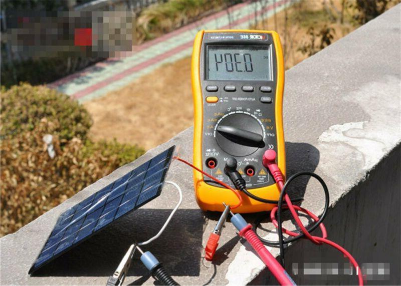 Sunnytech 1pc 330ma Solar Panel Module Epoxy Ce