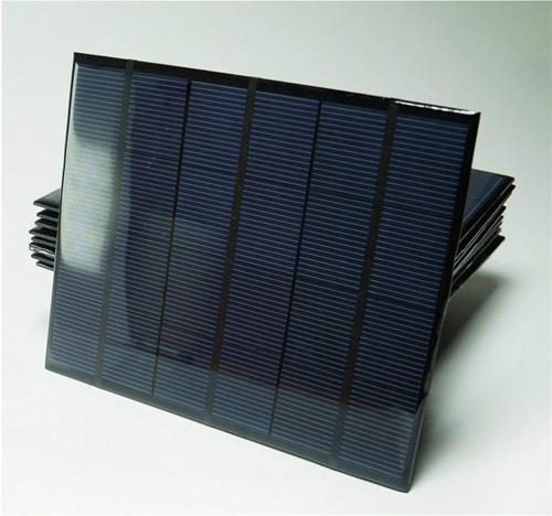 Sunnytech 1pc 3.5w 583ma Mini Module Solar Epoxy