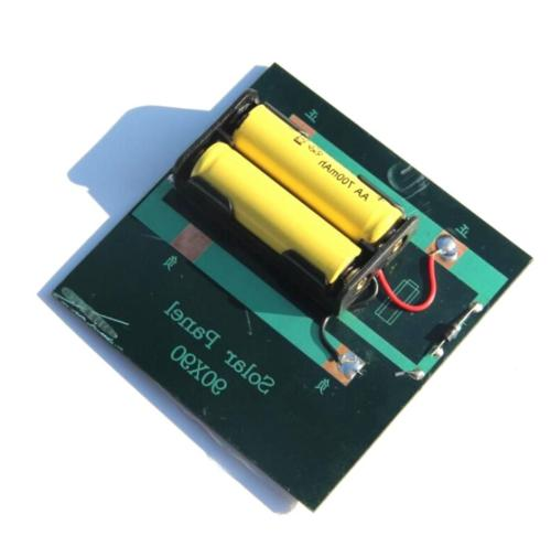 1w 4v rechargeable 2 aa battery solar