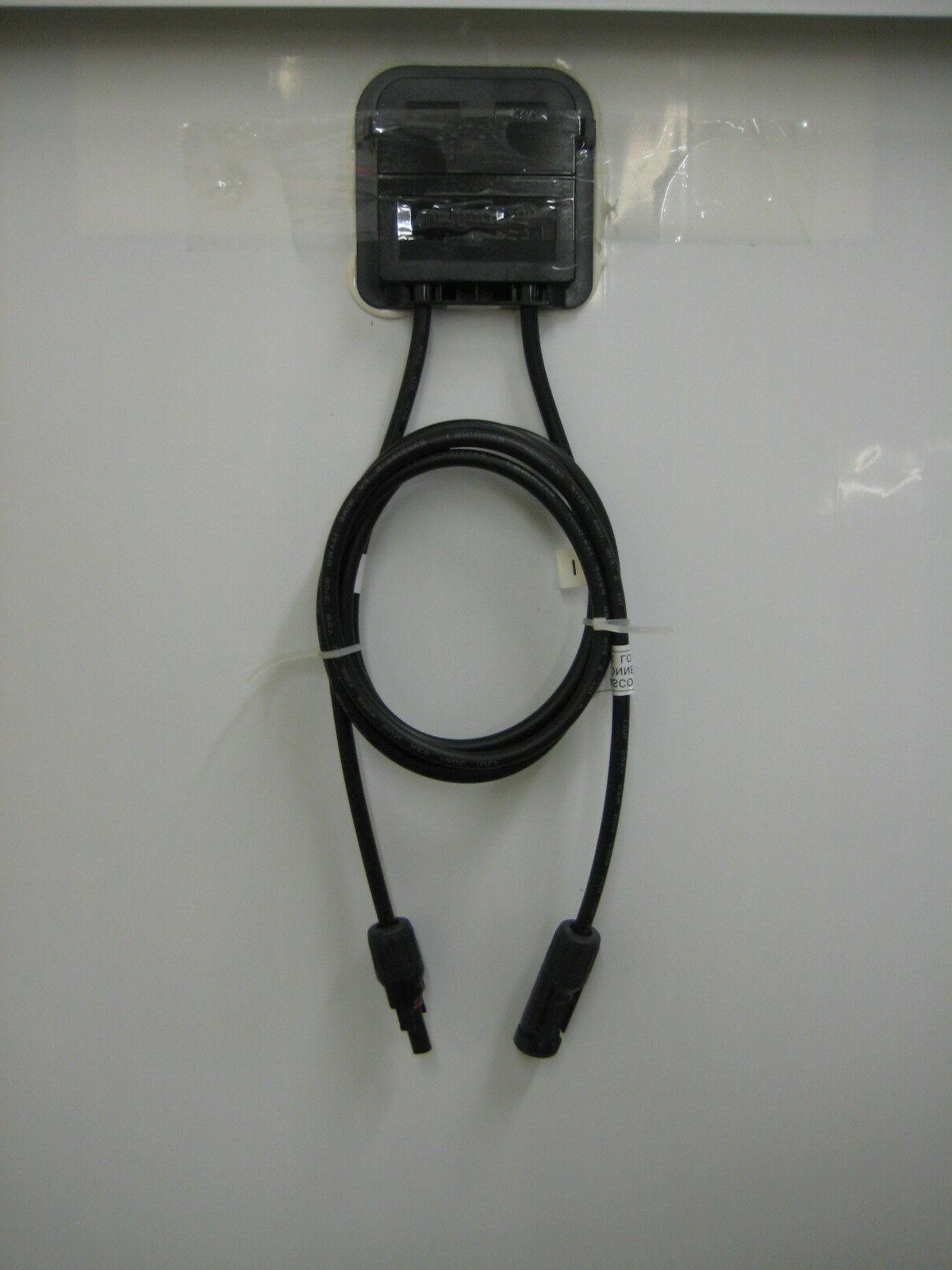 2- 200 Volt Battery Charger Panel Off RV Boat watt
