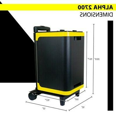 2 Foldable Panels with 2700Wh Solar for more