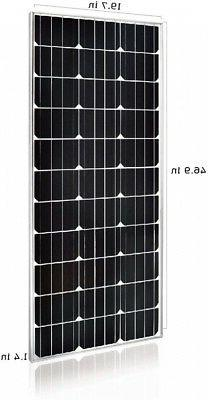 2 100 Watt Volt Monocrystalline Solar Panel