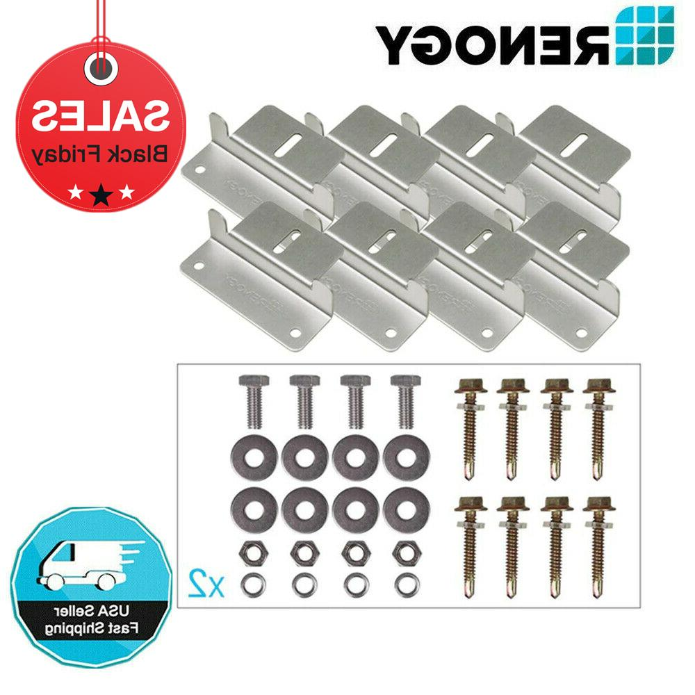 2 sets of solar panel mounting z