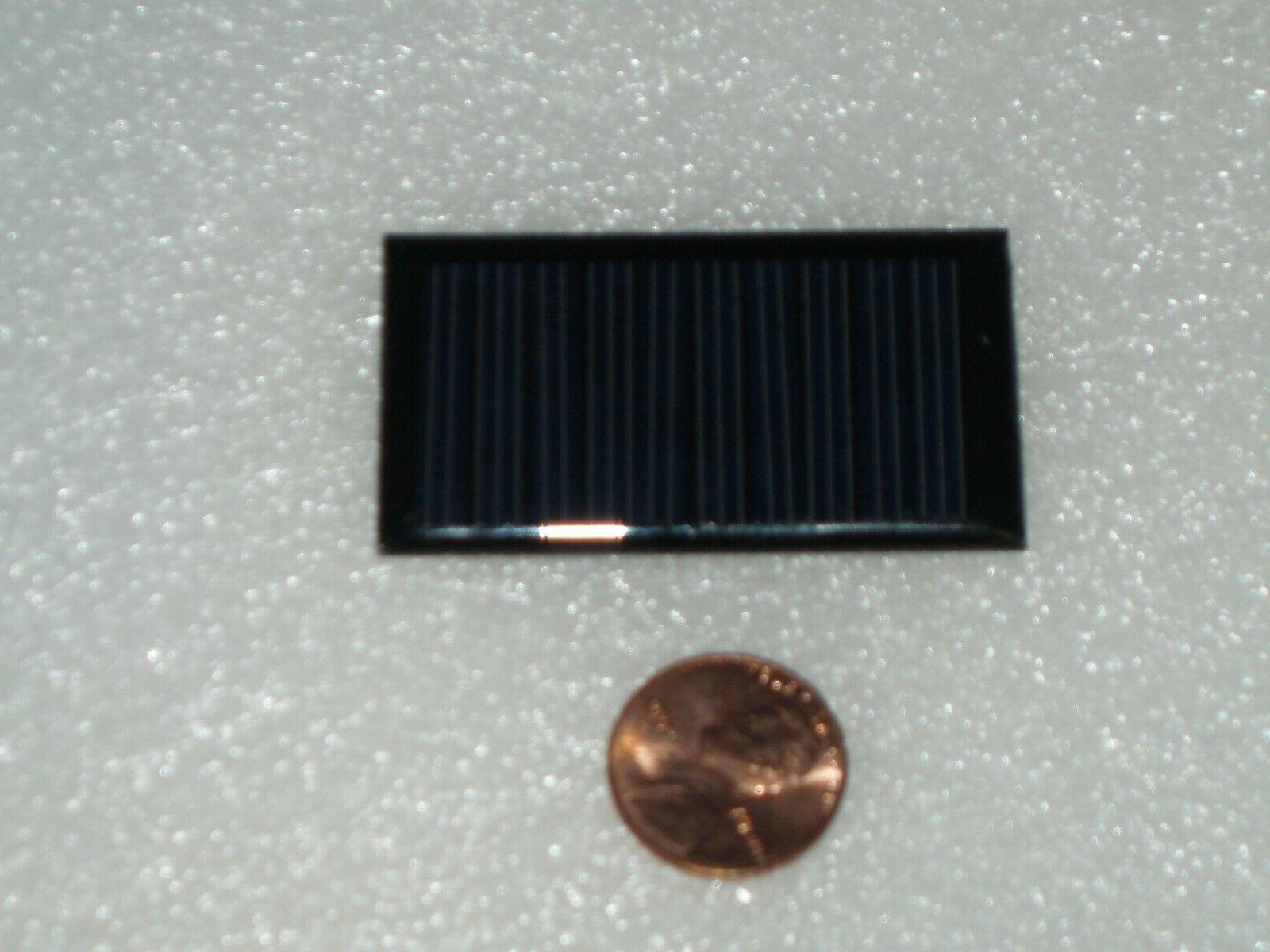 2 x 5V 30mA size 53mm x 30mm DIY mini solar