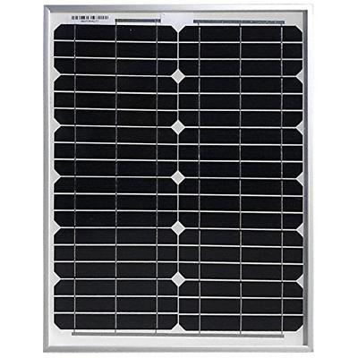 HQST 20 Volt Monocrystalline Solar Panel for