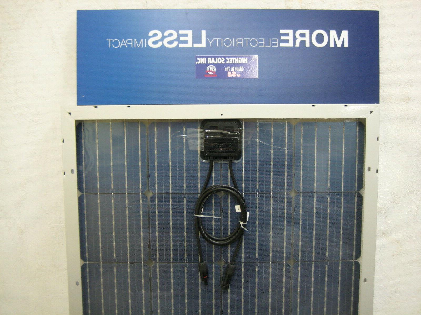 200+25% Solar RV Boat highest 12V you