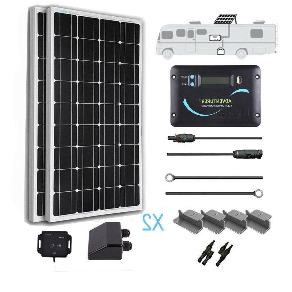 200 watt 12 volt monocrystalline solar rv
