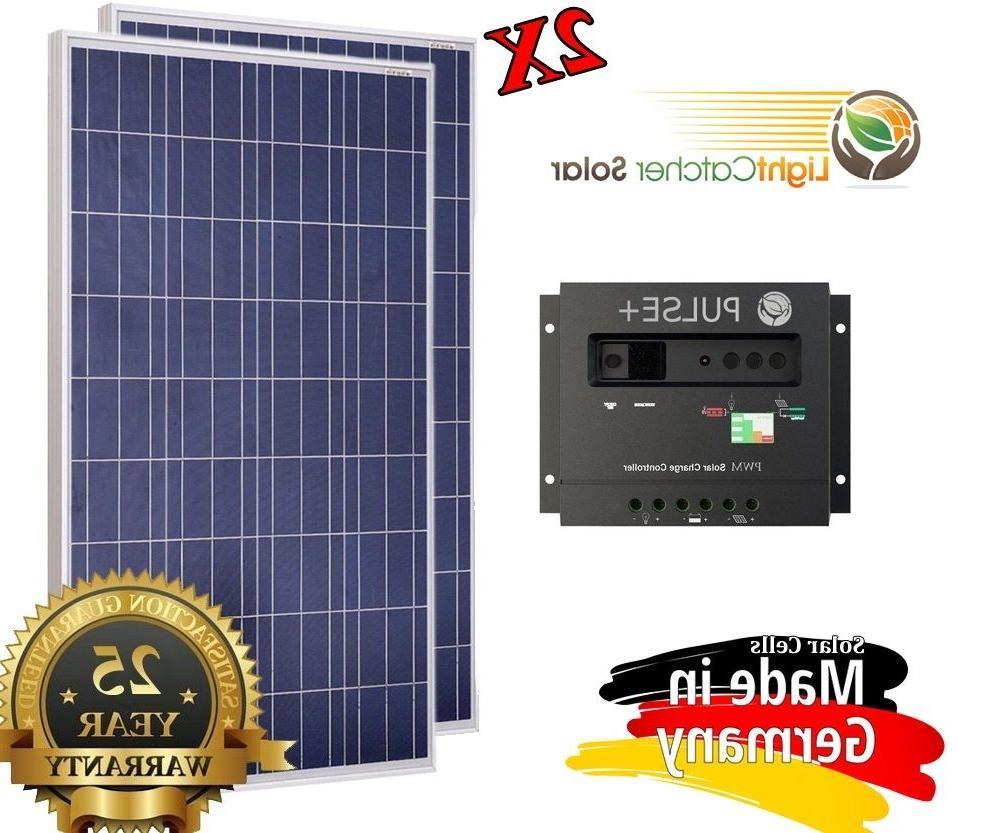 200 watt 200w solar panel kit solar