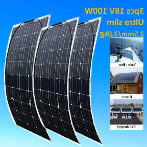 200 Watt Watt High Flexible Solar Panel Grid Charger