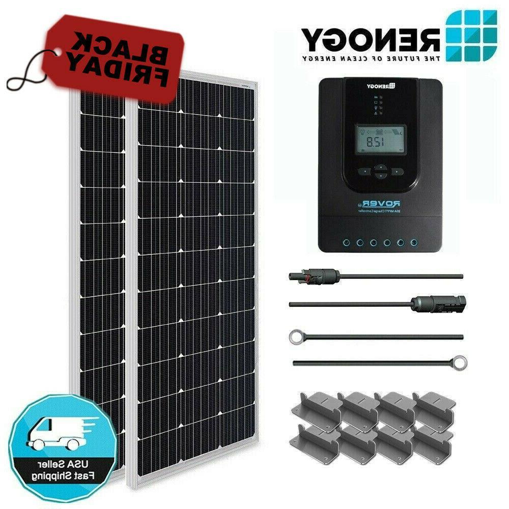 200 watt solar panel starter kit mppt