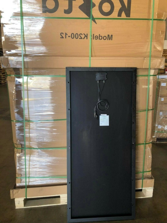 Kosta 200W Solar Panel Battery Monocrystalline