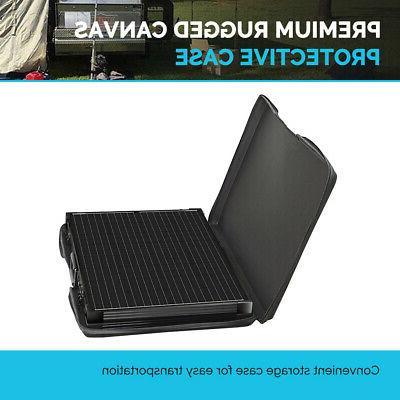 Renogy 200W 12V Mono Folding Solar Panel Suitcase RV Battery Charger