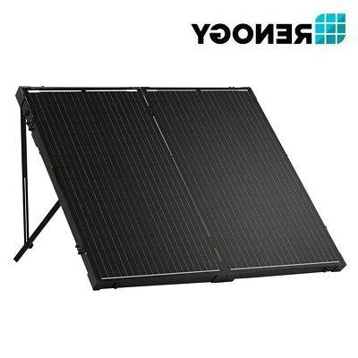Renogy Mono Folding Solar Suitcase RV Charger