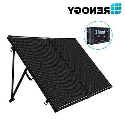 Renogy 12V Folding Solar Panel RV Off Charger