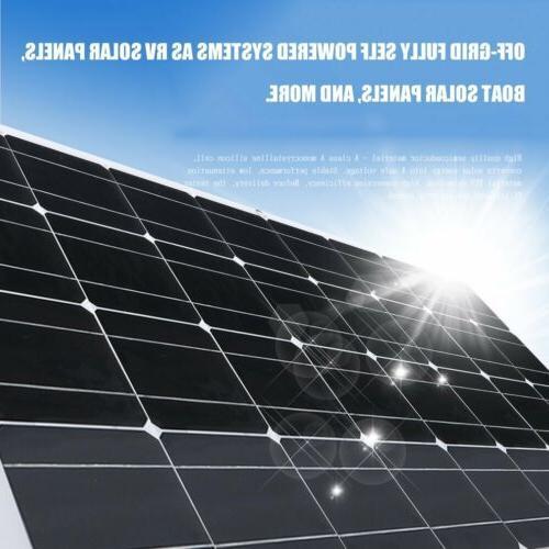 200 18V Solar Panel Off Grid Battery RV