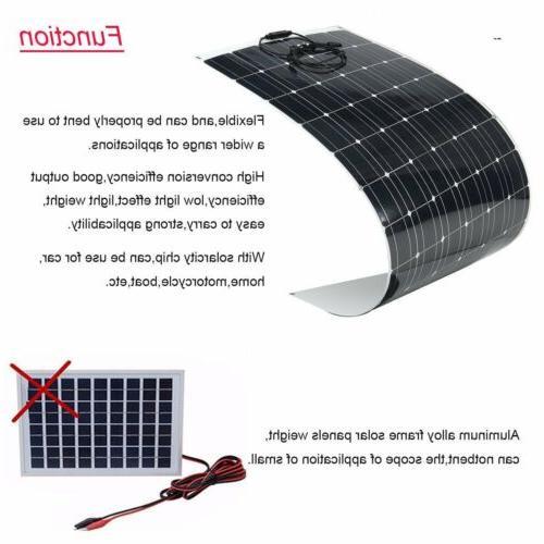 200 Watt Solar Panel Mono Off Battery RV