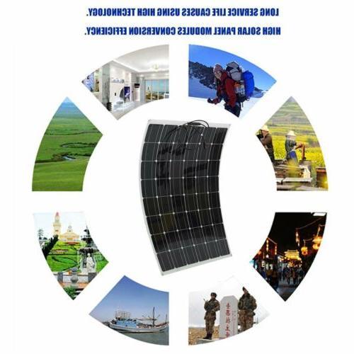 200 Watt Solar Panel Mono Semi-flexible Off Grid RV USA