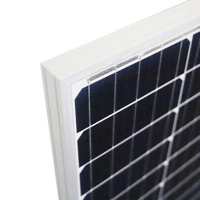 Newpowa 200W 2PCS Watt Mono-crystalline Solar panel RV GRID
