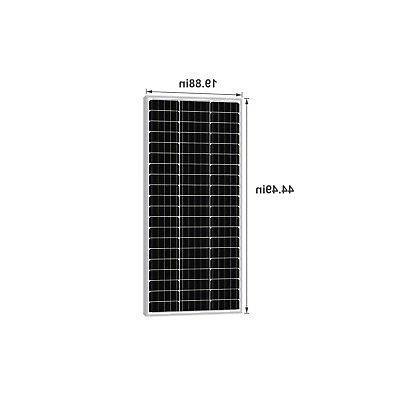 Newpowa Watt Mono-crystalline Solar RV Marine GRID