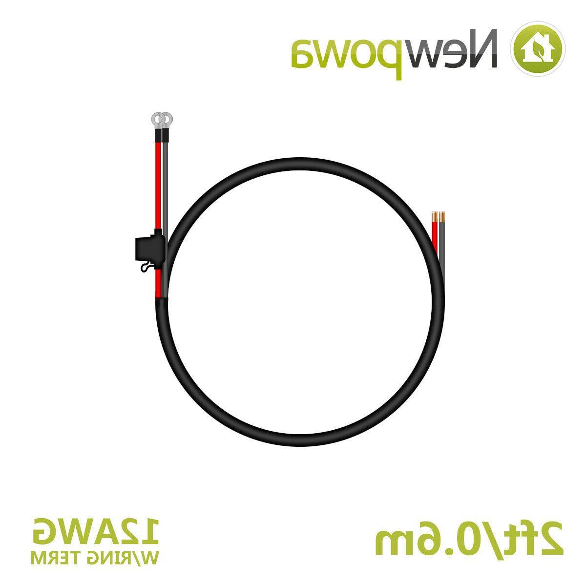 Newpowa 200W 2pcs 100W Monocystalline