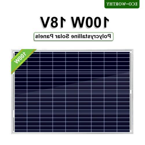 5w 10w 25w 100w 12v poly solar