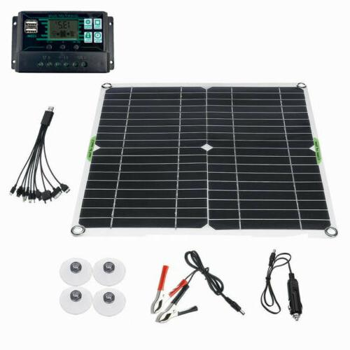 200W Solar 12V battery 10A-100A with