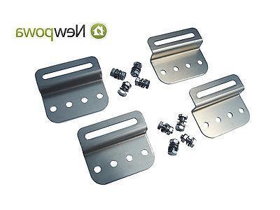 NewPowa 200W Watt Panel 12V Mounts MC4 charging Kit