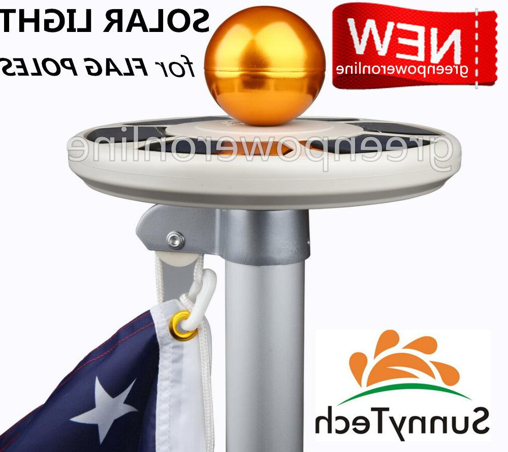 2018 new 3rd generation solar flag pole